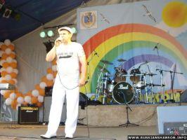 Фоторепортаж. Юрий Белоусов на Дне города «ЯНТАРНЫЙ» 25 июля 2009 года