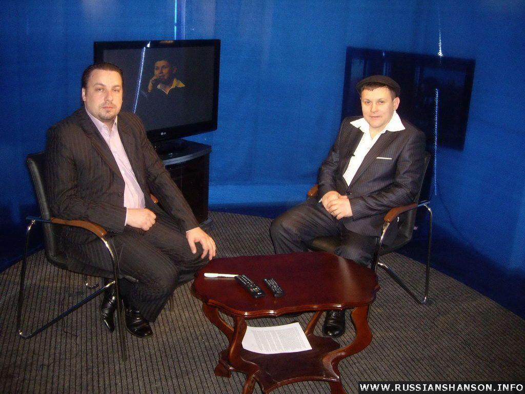 Фоторепортаж. Юрий Белоусов в авторской программе Алексея Адамова «Русская песня» 5 марта 2010 года