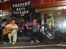 Фоторепортаж. Евгений Любимцев в шансон-клубе «КАПИТАН» 3 июня 2010 года