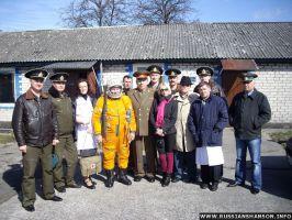 Фоторепортаж. Александр Пятков сменил погоны майора «Зуича» на погоны генерал-майора 8 апреля 2011 года