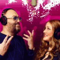 Клип «Любовь жива» Шуфутинского и Комиссаровой в эфире «Ля-минор» 10 октября 2011 года