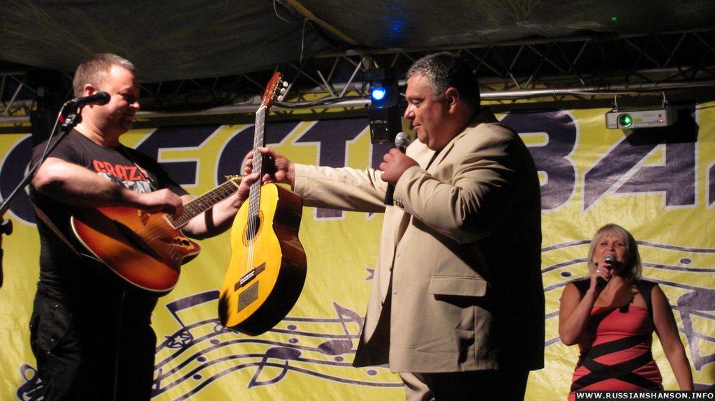 Фоторепортаж XІІ Международный фестиваль авторской песни «Млечный Путь» 8 июля 2012 года