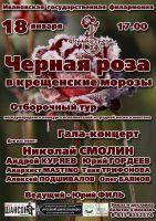 Иваново  «Черная роза в Крещенские морозы» 18 января 2014 года