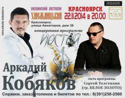 Аркадий Кобяков 22 ноября 2014 года