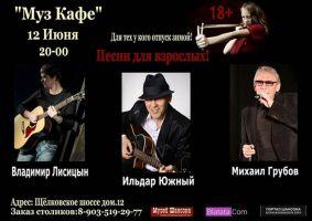 Ильдар Южный,  Владимир Лисицын,  Михаил Грубов 12 июня 2015 года