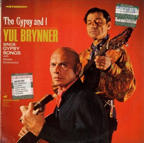 Юл Бриннер и Алеша Димитриевич - Цыган и я 1967 Yul Brynner & Aliocha Dimitrievitch The Gypsy and I 1967