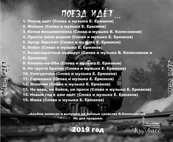 Владимир Колесников Поезд идет...  2019