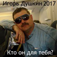 Игорь Душкин «Кто он для тебя?» 2017