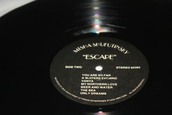 Misha Shufutinsky Escape (LP) 1983