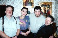 Александр Фрумин с Николаем Резановым и Сергеем Маклаковым