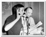 Аркадий Северный и Владимир Раменский. Первый концерт с ансамблем «Химик» 1978г.