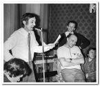 Стоят: Аркадий Северный(слева) и В.Соболев(справа). Сидят: Владимир Раменский,  Сергей Иванович Маклаков. «Олимпийский концерт» 1980г.