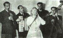 Изабелла Юрьева с ансамблем Евгения Рохлина (аккордеон)