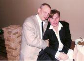 Николай Юрьевич с Дмитрием Персиным (актёр театра и кино,  автор -исполнитель собственных песен)