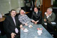 В.Урецкий с В.Асмоловым на радио Шансон,  Казань 22.04.05 г.
