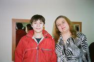 Сын Михаил с К.Огонёк,  Казань 17.02.05 г.
