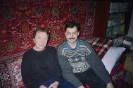 В.Урецкий с С.И.Маклаковым у него дома г.Санкт-Петербург 20.02.95 г.