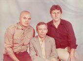 Станислав Ерусланов,  Евгений Оршулович и Юрий Брилиантов (г.Одесса,  фото начала-середины 80-х годов).