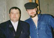Леонид Ефремов с Михаилом Кругом