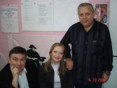 Геннадий Жаров и Михаил Шелег. Архангельск,  2006г.