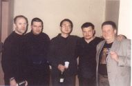 Слава Бобков,  Александр Звинцов,  Виктор Калина,  Николай Резанов