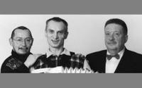 Алексей Дулькевич,  Виктор Смирнов и Николай Резанов