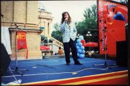 Участие в фестивале песни и пляски,  1996 год