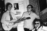 Владимир Ефимов с Р. Фуксом и А. Лобановским,  1974 г.
