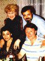 Евгений Кричмар с Андреем Мироновым и Нани Брегвадзе в июле 1983 г.