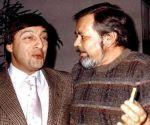 Евгений Кричмар с Геннадием Хазановым в 1983 г.