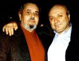 Евгений Кричмар с Михаилом Жванецким в сентябре 1998 г.