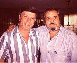 Евгений Кричмар с Вадимом Мулерманом в 1991 г.