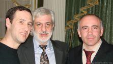 Мухтар Хордаев и Ефрем Амирамов