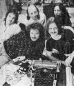 """Михаил Файбушевич - вокалист группы """"Красный смех"""" 1988-1991"""