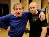 Виталий Гордей с Евгением Кемеровским в студии