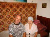 Костя Сапрыкин со своей мамой...