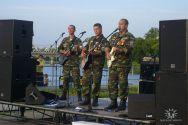 Группа «Солдаты России». Концерт на Ростке 2 августа 2009г.