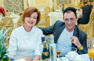 Певица Ольга Ланчава и композитор автор-исполнитель Валерий Копоть