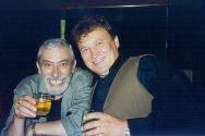 С Вахтангом Кикабидзе на борту теплохода