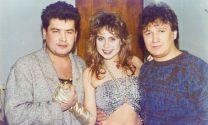 С Николаем Расторгуевым и Мариной Хлебниковой