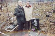 На могиле Аркадия Северного