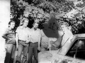 Фото во время записи 3-го концерта с «Черноморской чайкой» 1977г. Слева направо В. Коцишевский,  А. Дейнис,  Б. Добровольский,  М. Беленький,  В. Ващенко,  Е. Свешников