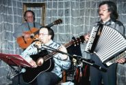 "Концерт в театре песни ""Перекрёсток"" 20 апреля 1998 года. Фото - Александр Волокитин"