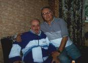 Константин Беляев на дне рождения Фреда Ревельсона,  известного коллекционера из Киева. 1996 год