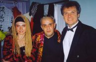 Виктор Березинский с артистами из России. Майами,  2004 год