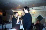 Владимир Черняков с Катей Огонек в ресторане «Версаль». На дальнем плане – Таня Тишинская