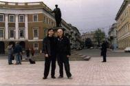 Михаил Шелег со Стасом Еруслановым