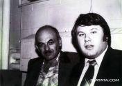 Виктор Шульман с Булатом Окуджавой
