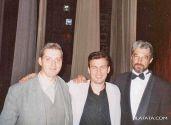 Валерий Шунт,  Эдик Сингер (гр.Чалка) и Михаил Иноземцев,  фестиваль Питерский приход,  2004