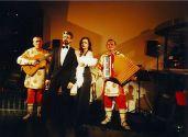 Валерий Шунт и группа Белые ночи,  рядом Лена Коган,  в клубе ША,  2003г.